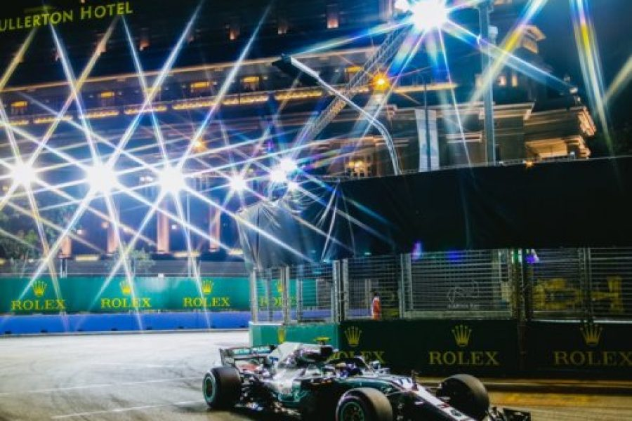 F1, GP Singapore 2018: l'Italia illumina Marina Bay
